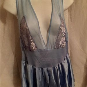 Vintage sheer top lingerie